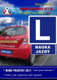 Nauka Jazdy 2011. Nowe przepisy. - Błażej Zasadny - ebook