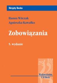 Zobowiązania - Agnieszka Kawałko - ebook
