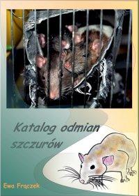 Katalog odmian szczurów - Ewa Frączek - ebook