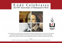 Łódź Celebrates the 450th Anniversary of Shakespeare's Birth