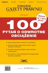 PODATKI 2015 nr 10/15 - 100 pytań o odwrotne obciążenie