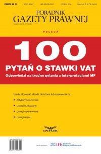 PODATKI  NR 11/15 - 100 pytań o stawki VAT