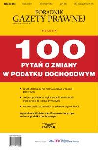 Podatki 6/15 - 100 pytań o zmiany w podatku dochodowym