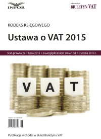 Kodeks Księgowego Ustawa o VAT 2015