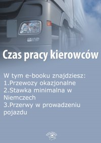 Czas pracy kierowców, wydanie lipiec 2015 r.