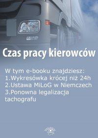 Czas pracy kierowców, wydanie sierpień 2015 r. - Opracowanie zbiorowe - eprasa