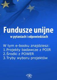 Fundusze unijne w pytaniach i odpowiedziach, wydanie czerwiec 2015 r.