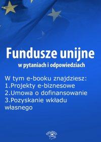 Fundusze unijne w pytaniach i odpowiedziach, wydanie lipiec 2015 r.