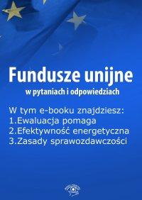 Fundusze unijne w pytaniach i odpowiedziach, wydanie sierpień 2015 r.