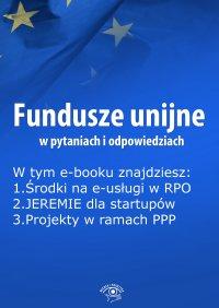 Fundusze unijne w pytaniach i odpowiedziach, wydanie październik 2015 r.