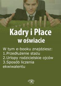 Kadry i Płace w oświacie, wydanie lipiec 2015 r.
