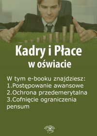 Kadry i Płace w oświacie, wydanie wrzesień 2015 r.