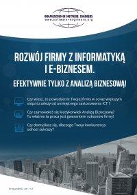 Rozwój firmy z informatyką i e-biznesem