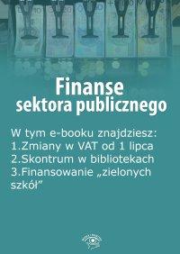 Finanse sektora publicznego, wydanie lipiec 2015 r. - Opracowanie zbiorowe - eprasa