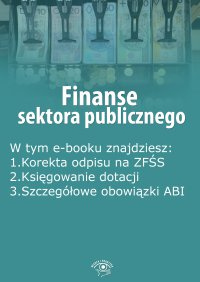 Finanse sektora publicznego, wydanie październik 2015 r.