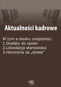 Aktualności kadrowe, wydanie czerwiec 2015 r. Część II