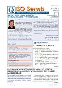 ISO Serwis. Wszystko o normach i systemach zarządzania jakością. Nr 11/2015