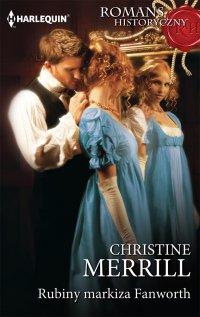 Rubiny markiza Fanworth - Christine Merrill - ebook