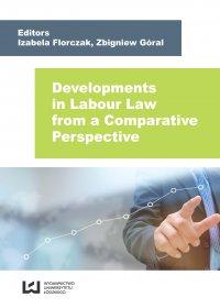 Developments in Labour Law from a Comparative Perspective - Izabela Florczak - ebook