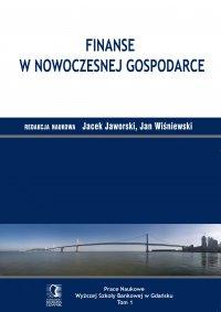 Finanse w nowoczesnej gospodarce - Jacek Jaworski - ebook