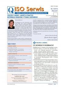ISO Serwis. Wszystko o normach i systemach zarządzania jakością. Nr 1/2016