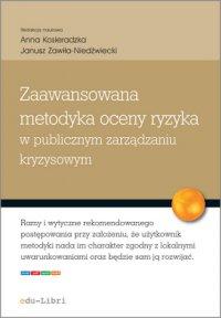 Zaawansowana metodyka oceny ryzyka w publicznym zarządzaniu kryzysowym - Urszula Kąkol - ebook