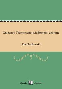 Gniezno i Trzemeszno: wiadomości zebrane - Józef Łepkowski - ebook