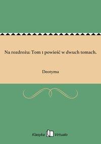 Na rozdrożu: Tom 1 powieść w dwuch tomach.