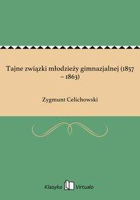 Tajne związki młodzieży gimnazjalnej (1857 – 1863) - Zygmunt Celichowski - ebook
