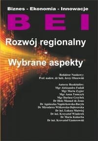 Rozwój regionalny. Wybrane aspekty