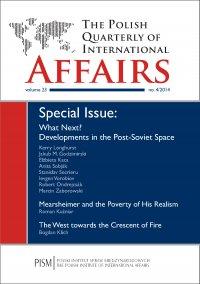 The Polish Quarterly of International Affairs 4/2014 - Kerry Longhurst - eprasa
