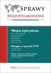 Sprawy Międzynarodowe 2/2015 - dr Marcin Andrzej Piotrowski - eprasa