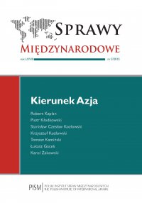 Sprawy Międzynarodowe 3/2015 - Robert Kaplan - eprasa