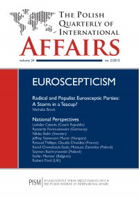 The Polish Quarterly of International Affairs 2/2015 - Nathalie Brack - eprasa