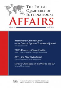 The Polish Quarterly of International Affairs 3/2015 - Matteo Casenove - eprasa