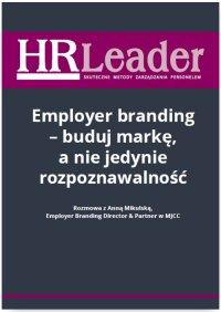 Employer branding - buduj markę, a nie jedynie rozpoznawalność