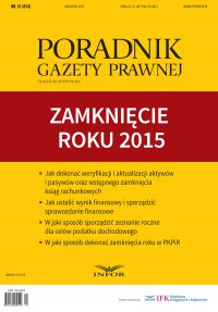 PGP 2015/12 Zamknięcie roku 2015