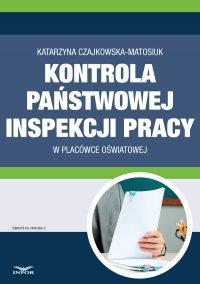 Kontrola Państwowej Inspekcji Pracy w placówce oświatowej