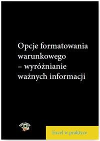 Opcje formatowania warunkowego – wyróżnianie ważnych informacji