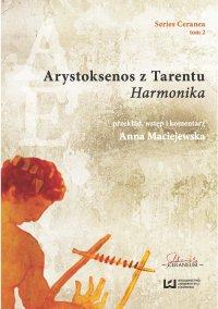 """Arystoksenos z Tarentu. """"Harmonika"""" - Anna Maciejewska - ebook"""