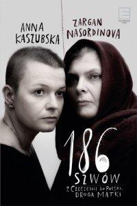 186 szwów
