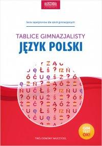 Język polski. Tablice gimnazjalisty