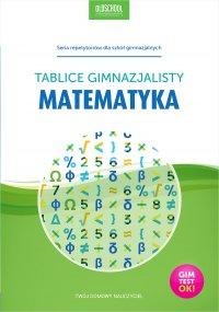 Matematyka. Tablice gimnazjalisty