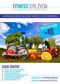 Fitness Styl Życia. Dieta dla osób +40 - Adrian Garus - ebook