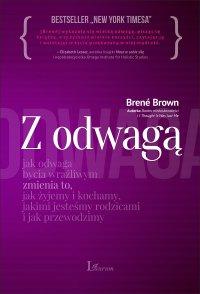 Z wielką odwagą - Brene Brown - ebook
