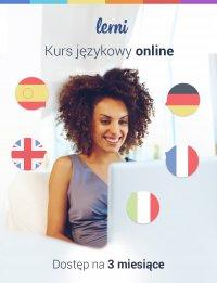 Kurs języków obcych Lerni.us - 3 miesiące dostępu do nauki