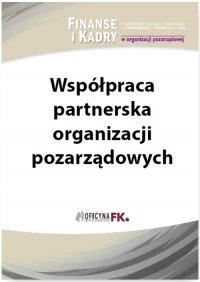 Współpraca partnerska organizacji pozarządowych