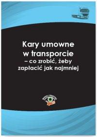 Kary umowne w transporcie – co zrobić, żeby zapłacić jak najmniej - Dariusz Lotz - ebook