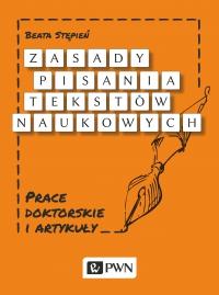 Zasady pisania tekstów naukowych - Beata Stępień - ebook