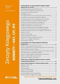 Zeszyty Księgowego nr 4. Korekty VAT, CIT, PIT
